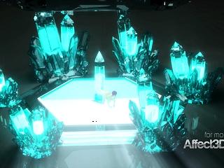 Fresh 3 dimensional cartoon game with a enormous baps elf bombshell