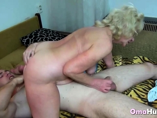 Fortunate stud nails a grandmother with relief