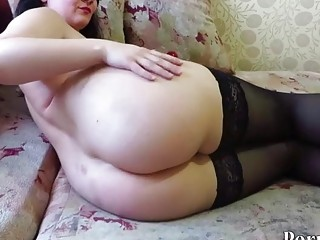 fisting and objects in the pussy at the mature milf
