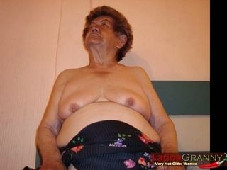 LatinaGrannY sufficiently superannuated of age tits together with Nudes