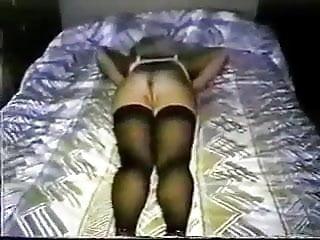 Milky blondie wifey vs big black cock (no sound) oral job internal cumshot - 2