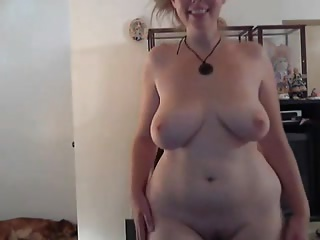 MILF striptease