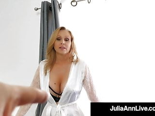 Motherly enjoy With Julia Ann fuckin' Step-Son's youthfull schlong!