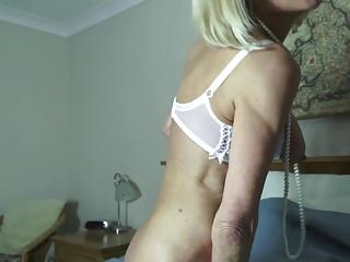 Sexy skinny granny needs a good fuck