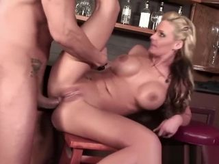 Blondie cougar enjoys to get her backside total of spunk