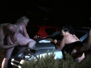 Sizzling mature outdoor and cum ssizzling