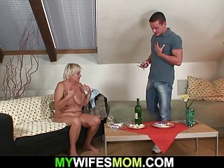 Taboo hookup with his highly elder mother-in-law