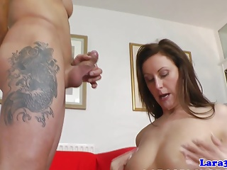 Rammed classy british mature jizzed in mouth