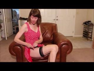 Sexy Stockings Stepmom