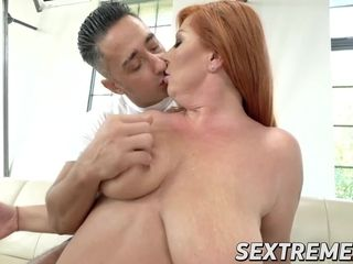 Huge-titted chubby grannie penetrates rock-hard and quick with youthfull guy