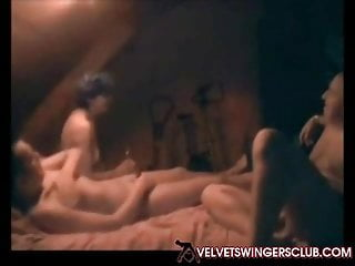 Velvet Swingers bar member only first-timer threeway joy
