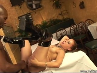 Bi-racial extraordinary big black cock fuck-a-thon With super-naughty Housewife