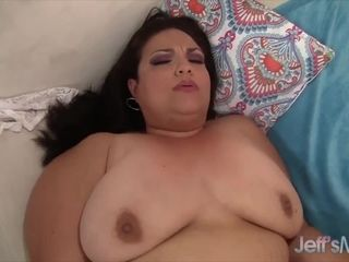 Jeffs Models Fat Latina MILF Angelina Taking Cock Compilation Part 2