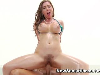Lena Paul Xander Corvus in prepped For Lena To spray Them Out - NewSensations