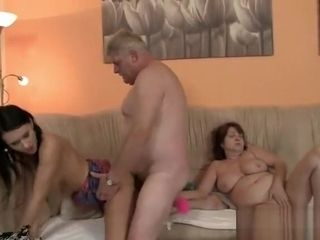 Boyfriend finds his girlfriend smashing his family