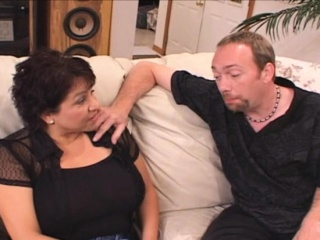 Ginormous mounds Latina wifey banged by muddy D