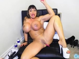 CamSoda Ava Devine with massive udders playthings