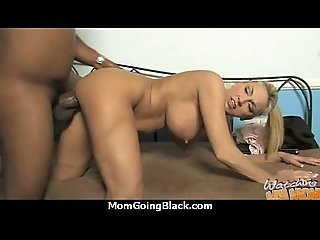 Big tits bounce on a black cock and mom joins in 23