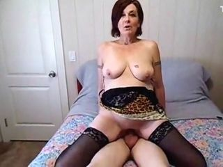 Incredible Amateur clip with Grannies, Stockings scenes