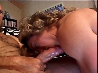 Mature muscular babe gets her pussy eaten then sucks a fat cock
