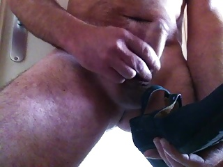 my cock in wife's shoes
