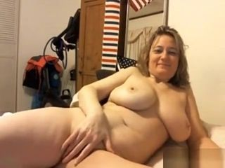 Fur covered cougar Plays Around With Her snatch