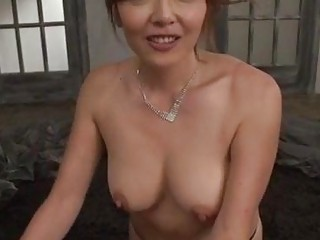Massage goes nasty for cock sucking wife Chieri Matsunaga