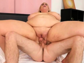 Big-chested Lusty plus-size cougar Lila adorable Gets Help from yam-sized cock