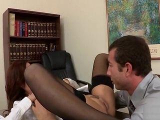 Stocking Slujt in the Office