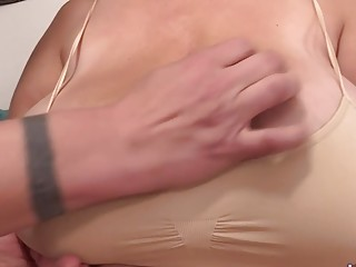 """Hefty milf Hayley Jane enjoyments fuck-stick with Her Massive knockers and wooly Pussy