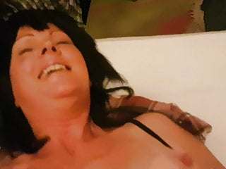 Funny vid hot english milf doesn't want to be filmed