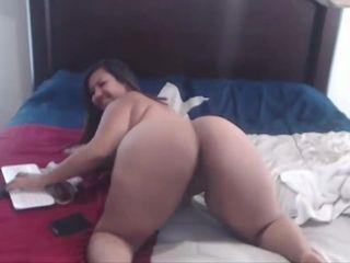 Fabulous Webcam, BBW mature film over