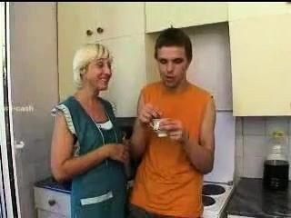Elderly heads youthful elderly heads youthful fellow makes Polina