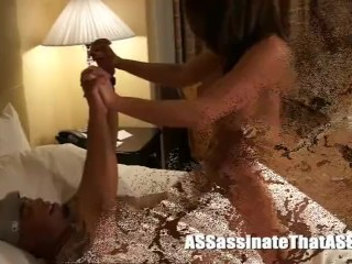 Jay Assassin gives Taylor Ann her very first bi-racial pulverize