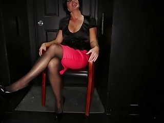 Huge boobed Milf Shay Fox Sucks off strangers at gloryhole