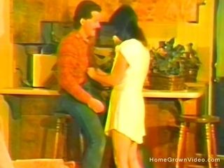 Antique homemade plow video with small wifey