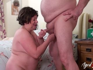 AgedLovE huge-boobed Nurse gonzo with wild medic