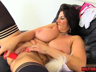 Scorching mature fuck-a-thon and cum sscorching