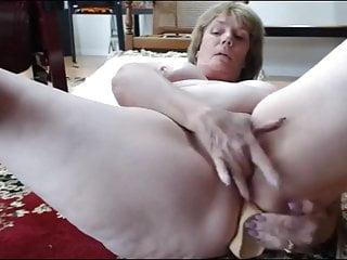 Granny attempts ass fucking