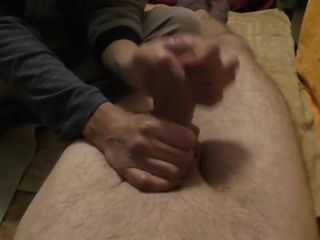 Wifey woke me up in the middle of the night for a hand-job...