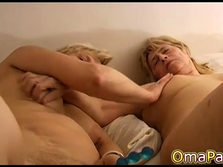 OmaPasS inexperienced Mature and girly-girl grannie frolicking
