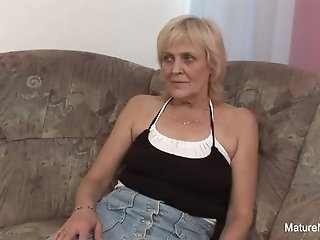 Granny gets pounded