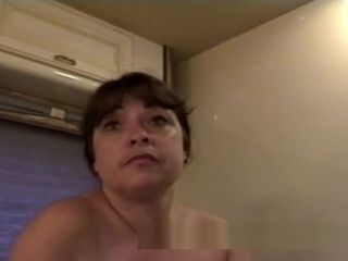 Bitchy brown-haired nymph unbelievable web cam demonstrate