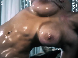 Hefty mounds emo stunner rubdown and pummels a giant man-meat