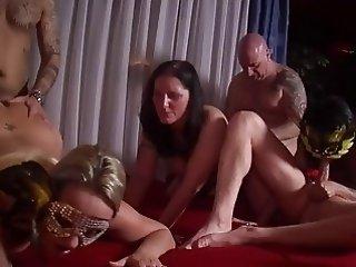 MMV FILMS Hot Amateur German Mature Swinger Party