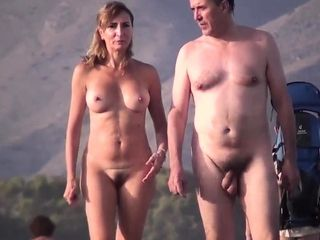 Red-hot Amateurs spycam naturist On Public Beach movie