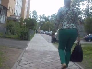 Bootylicious good-sized donk nymphs in cock-squeezing trousers