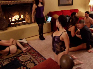 Mature duo looks forth to total exchanging in the crimson guest room