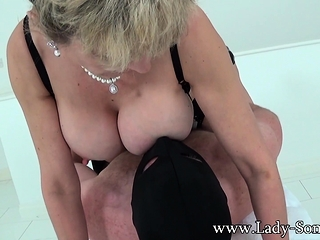 Hand job goddess female Sonia has another penis to jack