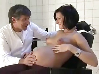 Pregnant wife fucked by her doctor